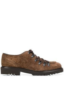 Doucal's lace-up shoes - Brown