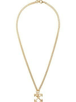 Off-White arrows pendant necklace - Gold