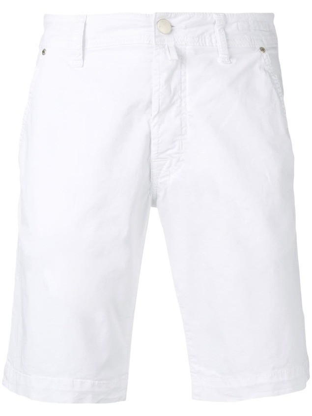 Jacob Cohen basic chino shorts - White