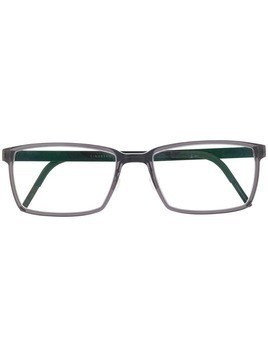 Lindberg rectangular frame optical glasses - Green