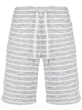 Onia Ssaul Heather Stripe shorts - Grey
