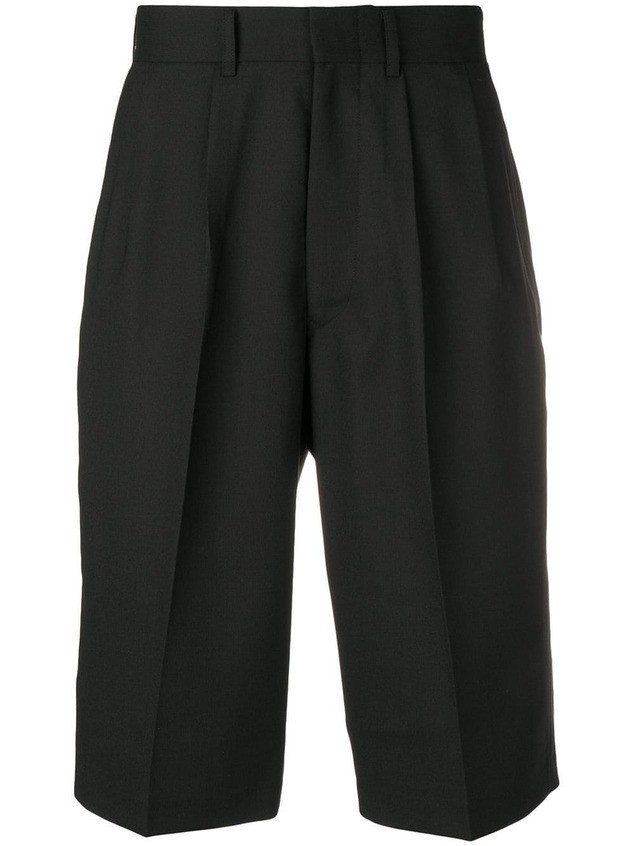 Junya Watanabe MAN tailored shorts - Black