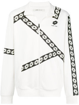 Damir Doma zipped fitted jacket - White