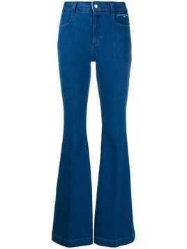Stella McCartney mid-rise flared jeans - Blue