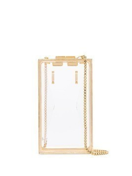 Marzook transparent Capsule plexiglass belt bag - Neutrals