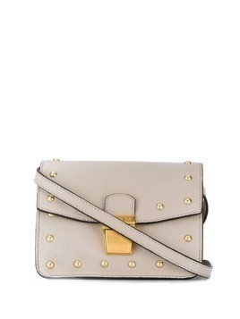 Escada Sport studded crossbody bag - Grey