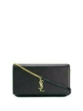 Saint Laurent Monogram phone holder bag - Black