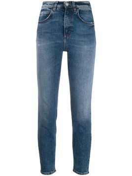 Haikure high rise cropped skinny jeans - Blue
