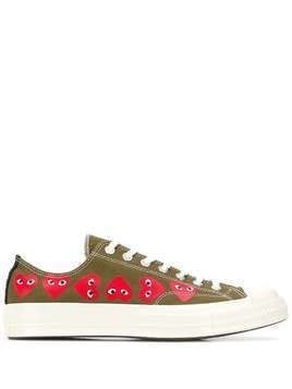 Comme Des Garçons Play x Converse Chuck Taylor low-top sneakers - Green