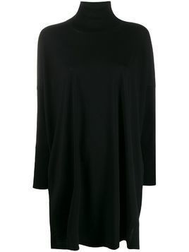 Max Mara long turtleneck jumper - Black