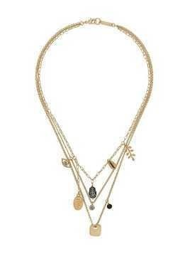 Isabel Marant Vedette multi-chain necklace - Gold