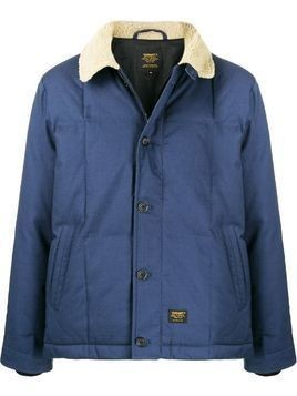Carhartt WIP shearling collar lightweight jacket - Blue