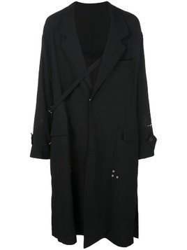 Bed J.W. Ford oversized trench coat - Black