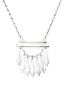 Isabel Marant Dancing multi-charm necklace - SILVER