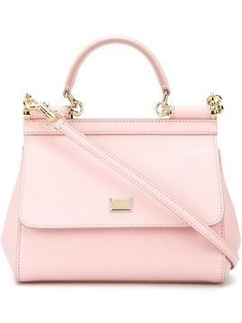 Dolce & Gabbana small Sicily shoulder bag - Pink & Purple