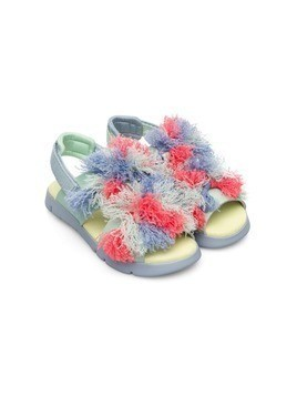 Camper pom pom sandals - Green