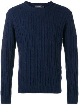 Hackett cable knit sweater - Blue