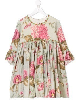 Pero Kids floral dress - Green