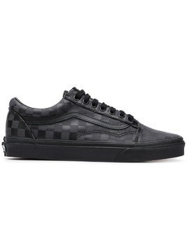 Vans check lace-up sneakers - Black