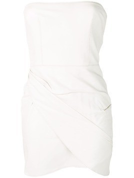 Alex Perry fitted party dress - White
