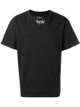 Misbhv Faces cotton T-shirt - Black