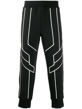Blackbarrett contrasting trim track pants