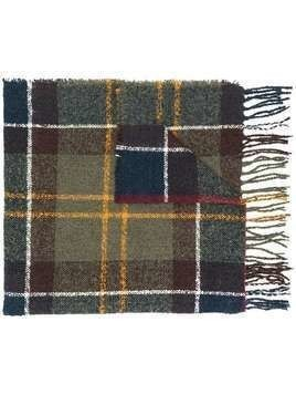 Barbour tartan pattern scarf - Green