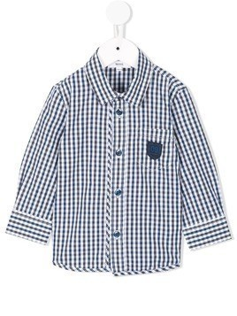 Boss Kids piped striped shirt - Multicolour