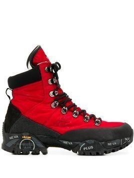 Premiata Midtrec hiking boots - Red