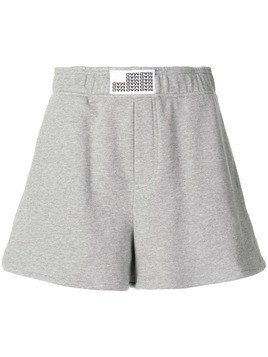 Matthew Adams Dolan casual jogging shorts - Grey