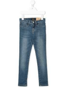 Ralph Lauren Kids slim faded jeans - Blue