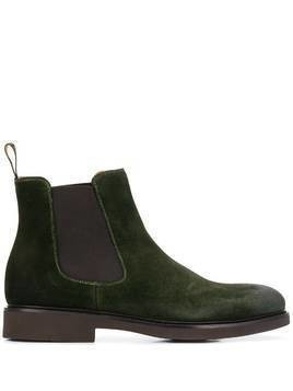 Doucal's pull-on ankle boots - Green