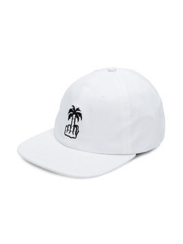 Local Authority embroidered palm tree cap - White