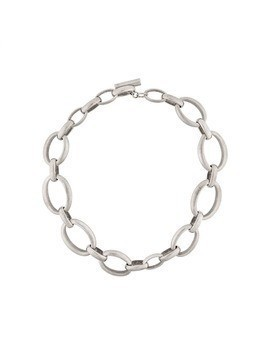 Ann Demeulemeester antique chain necklace - Metallic