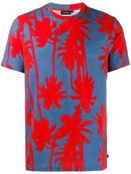 J.Lindeberg Silo printed T-shirt - Red
