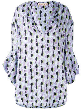 Marni printed tunic - Blue