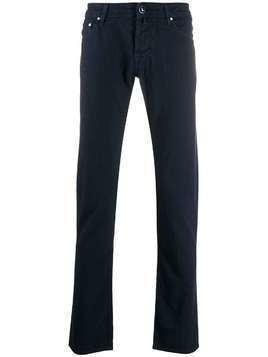 Jacob Cohen stretch straight leg jeans - Blue