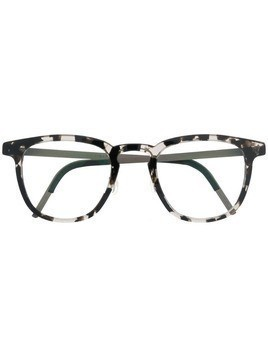Lindberg square frame glasses - Black