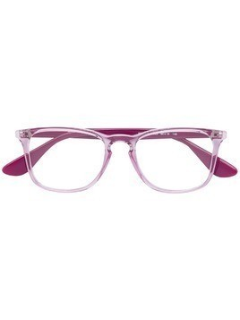 Ray-Ban square acetate glasses - Pink