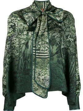 F.R.S For Restless Sleepers foliage print top - Green