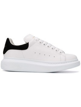 Alexander McQueen Oversized low-top sneakers - White