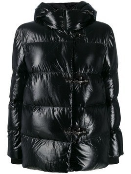 Fay quilted puffer jacket - Black