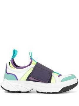 A(Lefrude)E colour block chunky sneakers - Multicolour