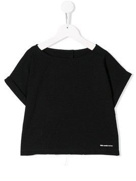 Little Creative Factory Kids boxy fit T-shirt - Black