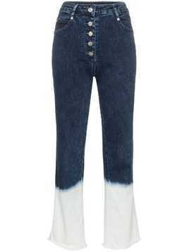 Miaou Junior dip-dye jeans - Blue