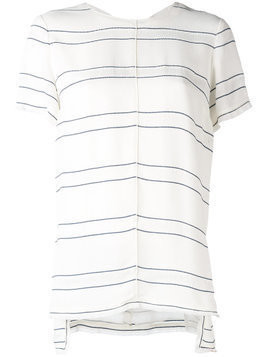 Proenza Schouler knot back detail top - White