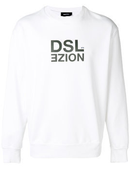 Diesel loose fitted sweatshirt - White