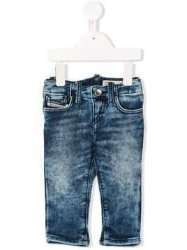 Diesel Kids acid wash jeans - Blue