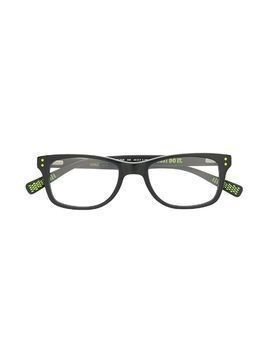 Nike Kids rectangle frame glasses - Black