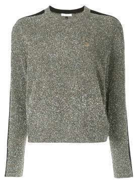 Bella Freud Teeny Bopper tinsel jumper - Metallic